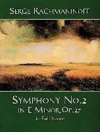 [해외]Symphony No. 2 in E Minor, Op. 27, in Full Score