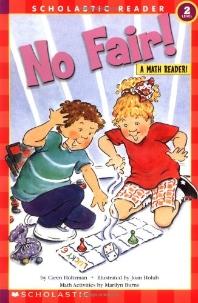 No Fair(A Math Reader)(Hello Reader Level 2)
