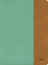 [해외]CSB Tony Evans Study Bible, Teal/Earth Leathertouch (Imitation Leather)