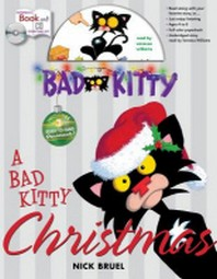 A Bad Kitty Christmas [With Paperback Book]