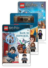 Lego Harry Potter Handbook +  Minifigure 3종 세트 ( Harry Potter + Hermione + Snape )