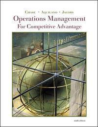 Operations Management for Competitive Advantage, 9/E