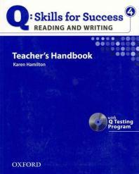 Q: SKILLS FOR SUCCESS. 4(READING AND WRITING)(TEACHER S HANDBOOK)(CD1?