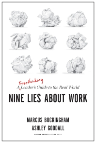[해외]Nine Lies about Work (Hardcover)