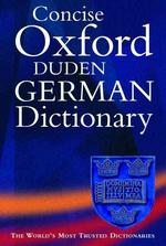 Oxford Duden German Dictionary