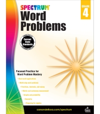 Spectrum Word Problems. 4