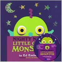 [노부영] Nighty,Little Green Monster(CD1장포함)(양장본 HardCover)