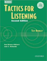 Basic Tactics for Listening Test Booklet 2/E(with CD)