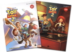 TOY STORY. 2(토이스토리)(코믹북+워크북)세트(CD1장포함)(DISNEY COMICS READER 1)(전2권)