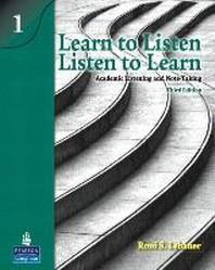 [해외]Learn to Listen, Listen to Learn 1 (Paperback)