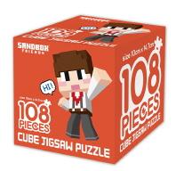 샌드박스프렌즈 큐브 직소 퍼즐 108조각 안녕, 도티