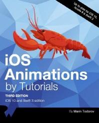 [해외]IOS Animations by Tutorials Third Edition
