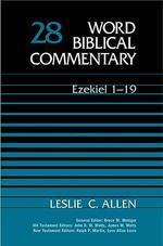 [해외]Ezekiel 1-19 (Hardcover)