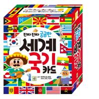 세계 국기 카드(진짜 진짜 궁금한)