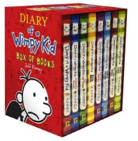Diary of a Wimpy Kid Books 1-9 Box Set