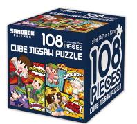 샌드박스프렌즈 큐브 직소 퍼즐 108조각 나이스