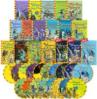 [Winnie the Witch] 마녀 위니 챕터북 직수입도서 15종 + 신간 3종 (Paperback + Audio CD 18장 증정)