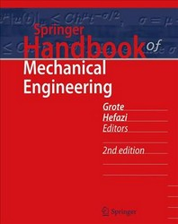 Springer Handbook of Mechanical Engineering [With DVD]