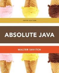 Absolute Java
