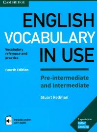 [해외]English Vocabulary in Use Pre-Intermediate and Intermediate Book with Answers and Enhanced eBook (Hardcover)