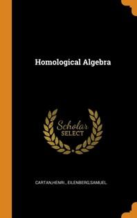 [해외]Homological Algebra (Hardcover)