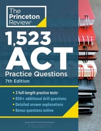 [해외]1,523 ACT Practice Questions, 7th Edition