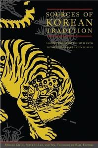 Sources of Korean Tradition: Volume 2