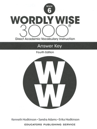 Wordly Wise 3000: Book 6 Answer Key