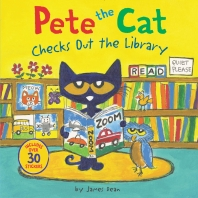 [해외]Pete the Cat Checks Out the Library
