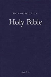 [해외]NIV, Pew and Worship Bible, Large Print, Hardcover, Blue (Hardcover)