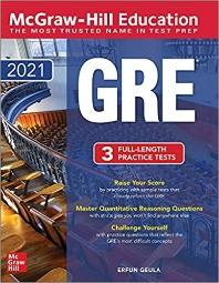 McGraw-Hill Education GRE 2021