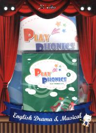 Play Phonics B 세트(CD2장포함)(뮤즈위즈 영어연극 표현영어 학습시리즈)(전3권)