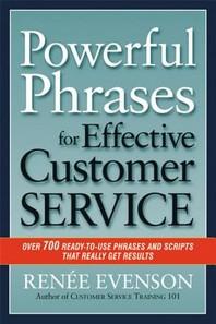 [해외]Powerful Phrases for Effective Customer Service