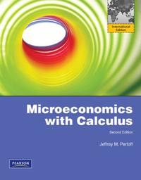 Microeconomics with Calculus #