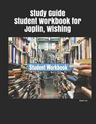 [해외]Study Guide Student Workbook for Joplin, Wishing (Paperback)