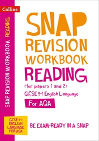 [해외]Collins GCSE 9-1 Snap Revision - Reading (for Papers 1 and 2) Workbook