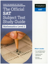 The Official SAT Subject Test in Mathematics Level 2 Study Guide(양장본 HardCover)