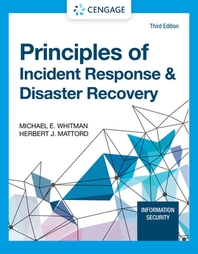 Principles of Incident Response & Disaster Recovery