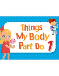 생활 영어 단어 카드 - 동사편 01. Things My Body Parts do 1