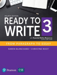 Ready to Write 3 SB with Essential Online Resources
