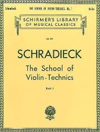School of Violin Technics - Book 1
