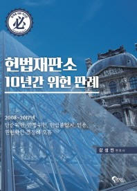 헌법재판소 10년간 위헌 판례