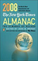 The New York Times Almanac 2008 =?테두리 색바램,모서리 살짝 휨현상외 양호합니다