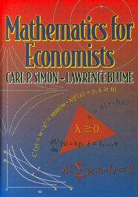 Mathematics for Economist