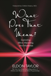 What Does That Mean? : Exploring Mind, Meaning, and Mysteries  /새책수준   ☞ 서고위치:RB 5 *[구매하시면 품절로 표기됩니다]