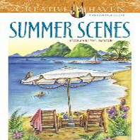 [해외]Creative Haven Summer Scenes Coloring Book