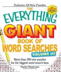 [해외]The Everything Giant Book of Word Searches, Volume 3 (Paperback)