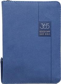 굿데이 365성경(블루/NKR62EWDA/개역개정/새찬송가/소합본/지퍼/색인)