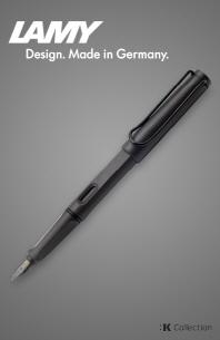 라미 사파리 만년필 - 차콜 블랙 (EF)(:K Collection)