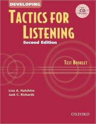 Developing Tactics for Listening Test Booklet 2/E(CD1포함)